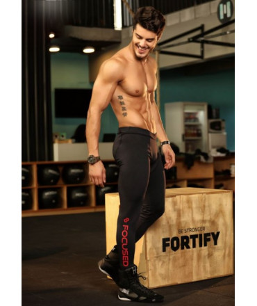 Legging Sport Homme Focused en Polyamide - Megging
