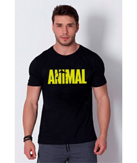 Sport Men''s T-Shirt - Animal - Black
