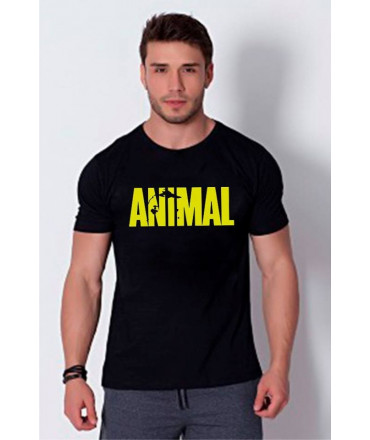 T-Shirt Homme Sport - Animal - Noir