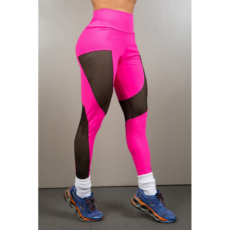 d354fa9823a28 Brazilian Legging 2 Colors with Tulle - Black and Pink ...