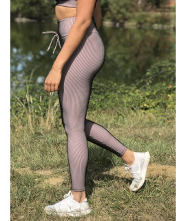Nude 3D Polyamide Leggings