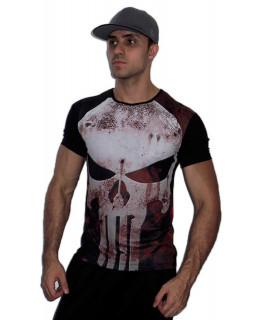 T-Shirt Homme Sport - The Punisher - Impression Numérique