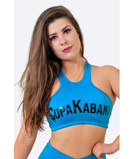 Brassière CopaKabana Turquoise - Rembourrage Amovible