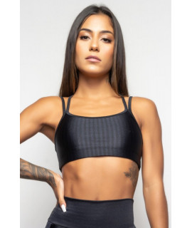 Brassière Fitness Noire - Obsession